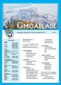 Deckblatt Gmoabldl 4