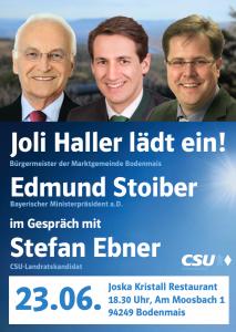 Plakat_Stoiber_Bodenmais_Version
